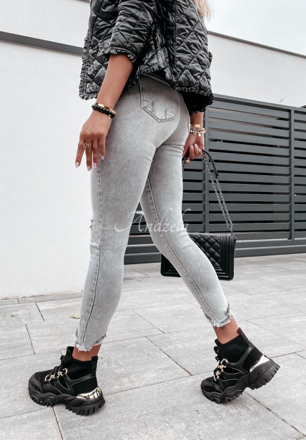 Nohavice Jeans Ondill Grey