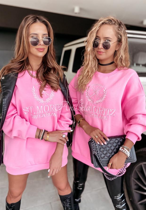 Mikina Oversize Moritz Pink