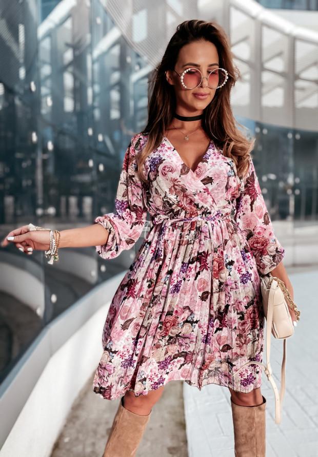 Šaty Plisa Medellin Pink