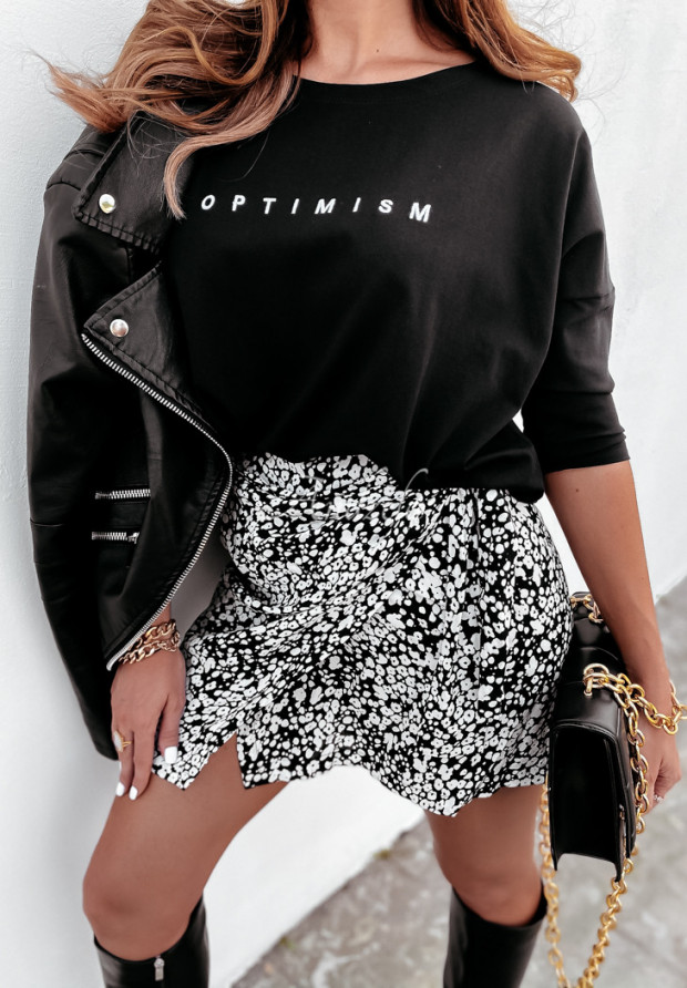 Blúzka Oversize Optimism Black