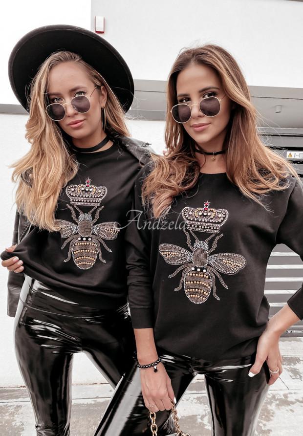 Mikina Queen Bee Black