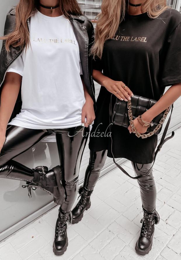 Tričko Oversize Lalu Label Black