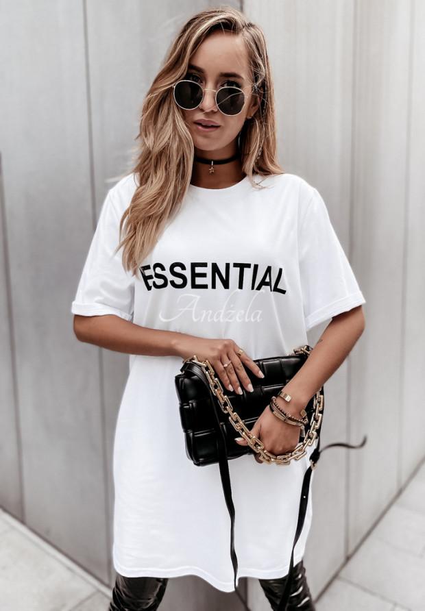 Šaty Tunika Essential White