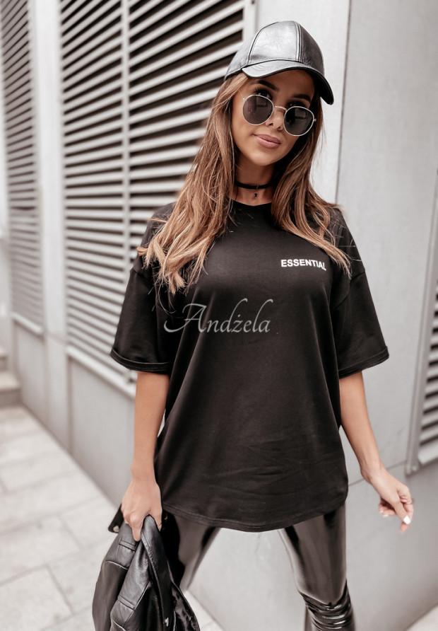 Tričko Oversize Essential Black