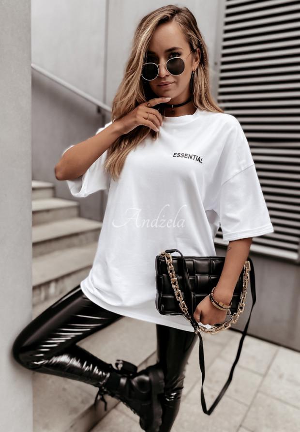Tričko Oversize Essential White