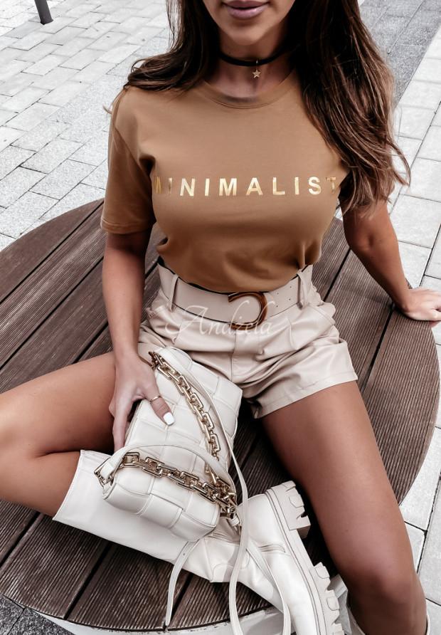 Tričko Minimalist Camel