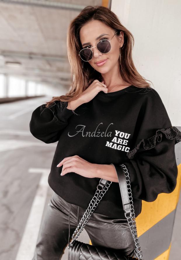 Mikina Oversize Magic Black