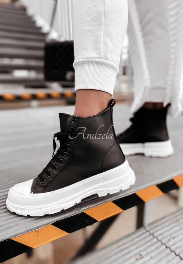 Tenisky Trendy Skin Black