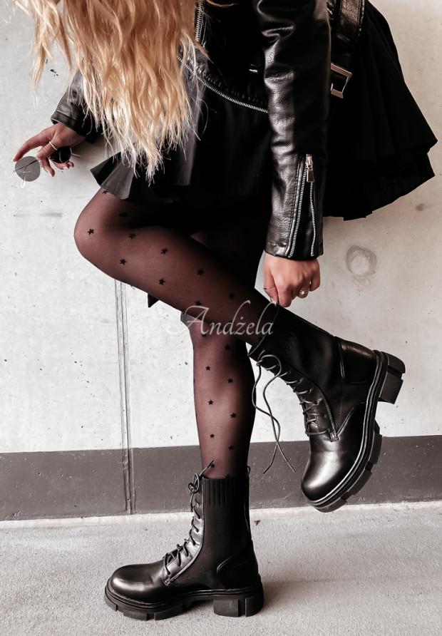 Členkové Topánky Villers Black