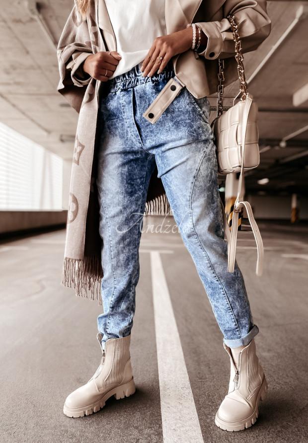 Nohavice Jeans Norena Blue