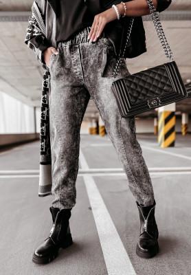 Nohavice Jeans Norena Grey