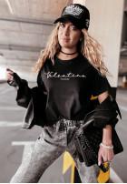 Tričko Velsatino Brand Black