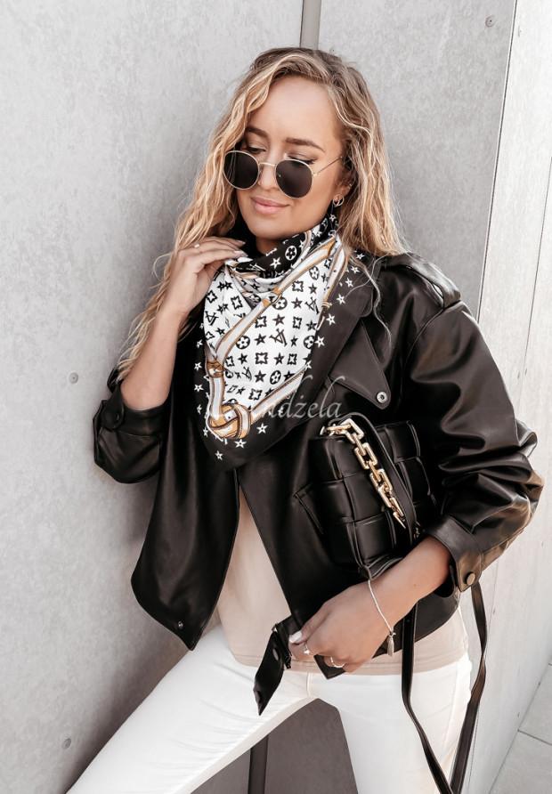 Šatky La Vija Black&White