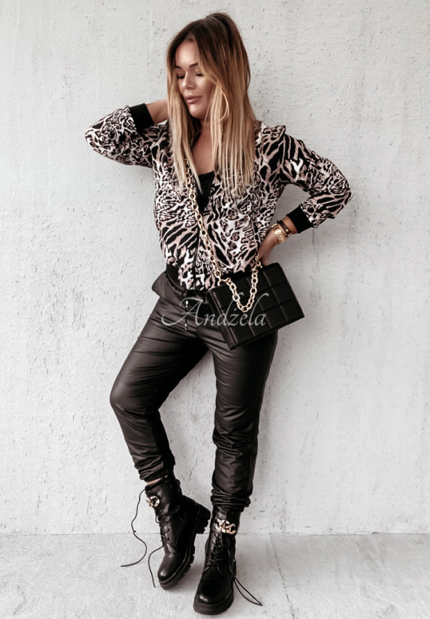 Mikina Bomberka Leopard