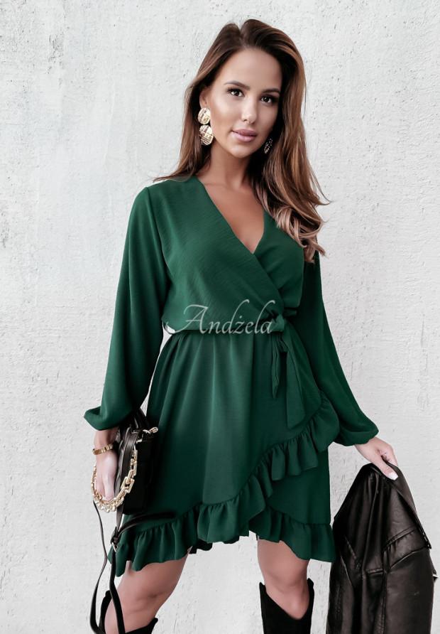 Šaty Saselle Bottle Green