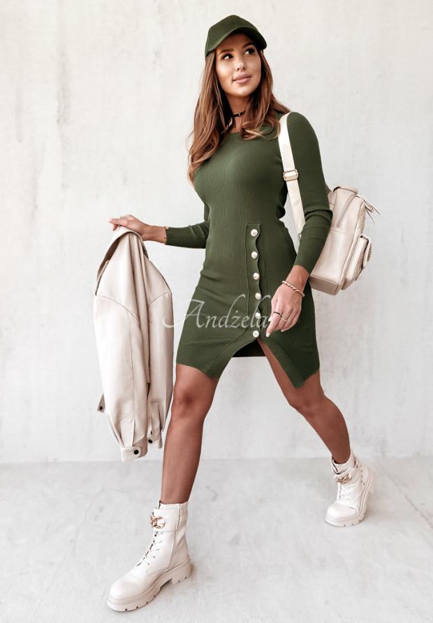 Šaty Afrodite Khaki