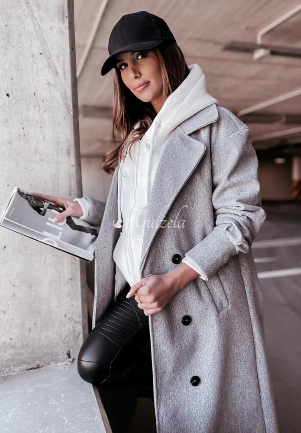 Kabát Adriene Grey