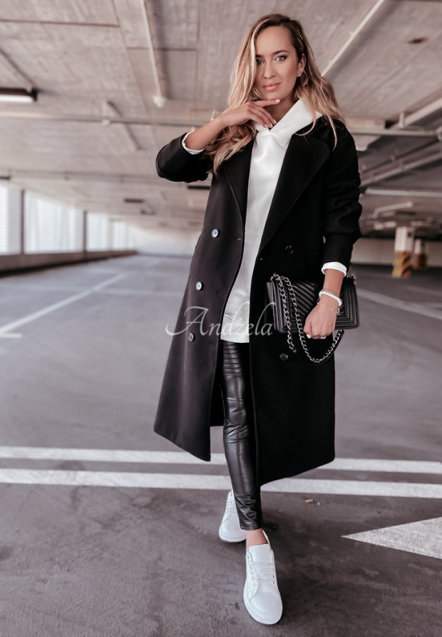Kabát Adriene Black