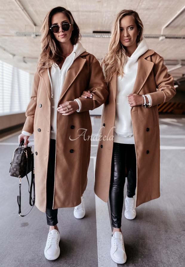 Kabát Adriene Camel
