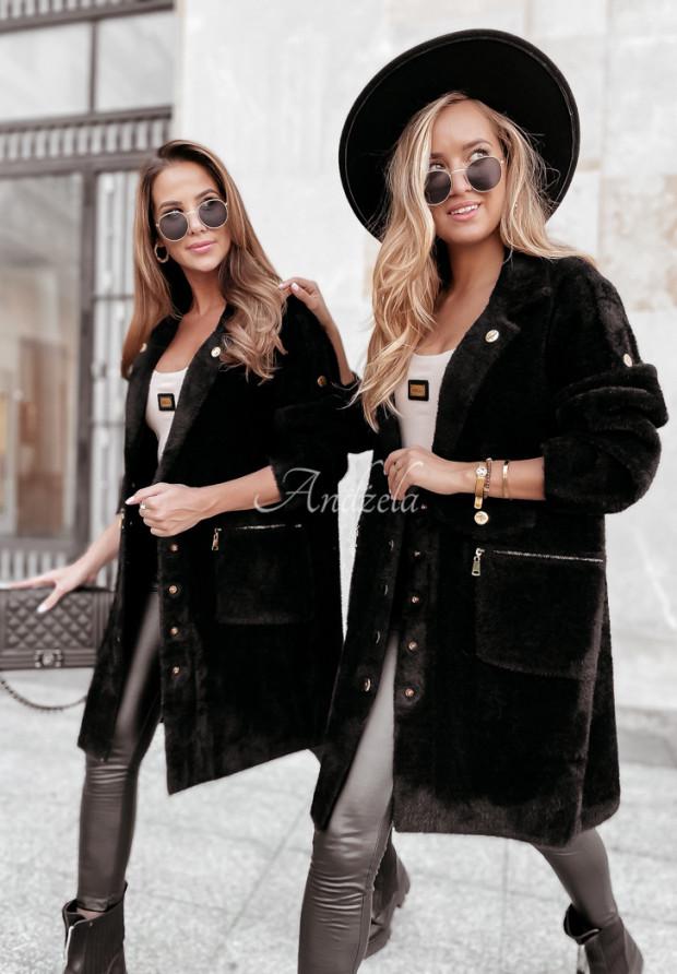 Kabát Alpaka Lirosse Black