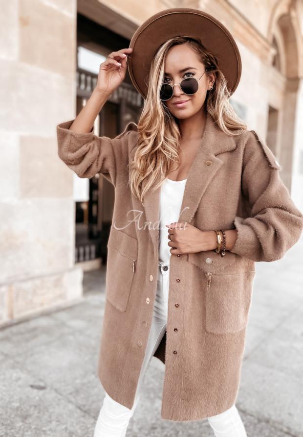 Kabát Alpaka Lirosse Camel