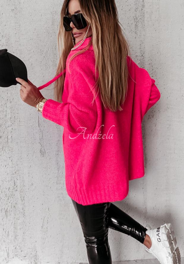 Sveter Carra Neon Pink