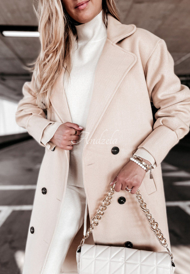 Kabát Adriene Beige