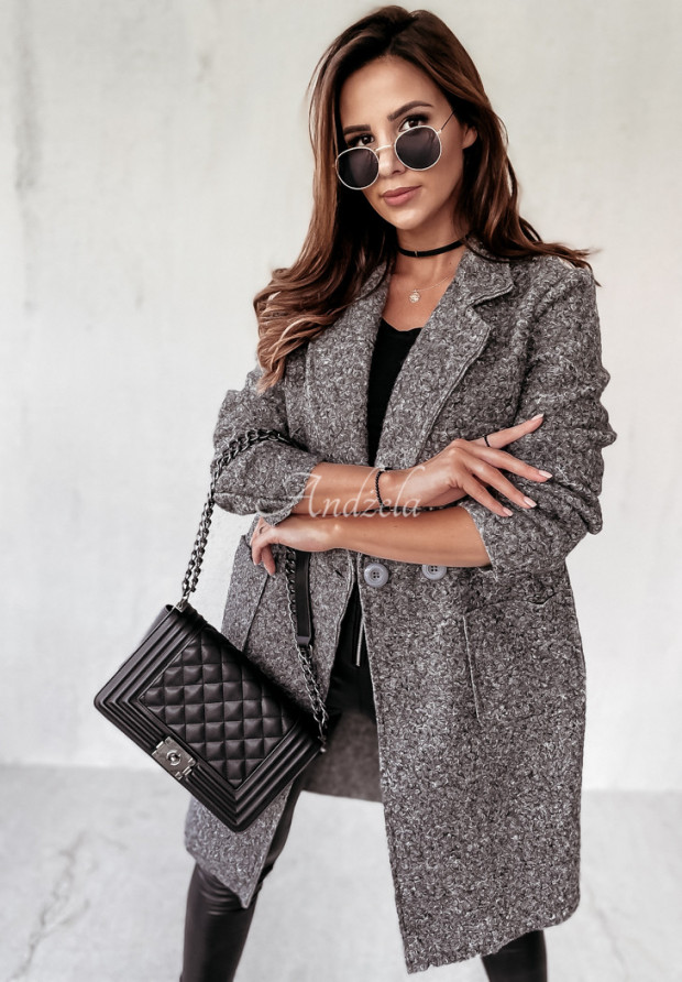 Kabát Kožuch Marissa Grey