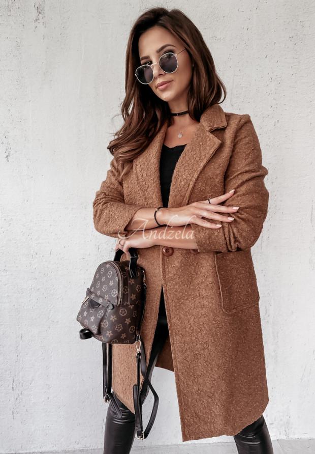 Kabát Kožuch Marissa Camel