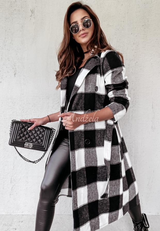 Kabát Káro Fairmont Black&White