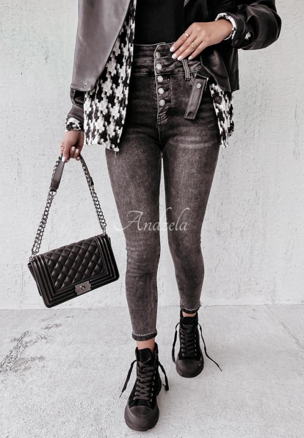 Nohavice Jeans Welman Dark Grey