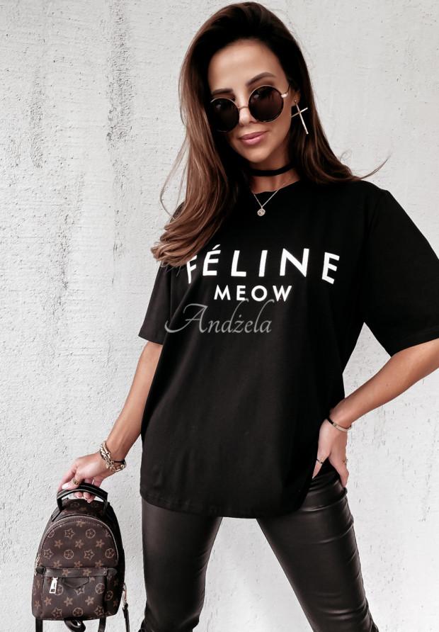 Tričko Feline Black