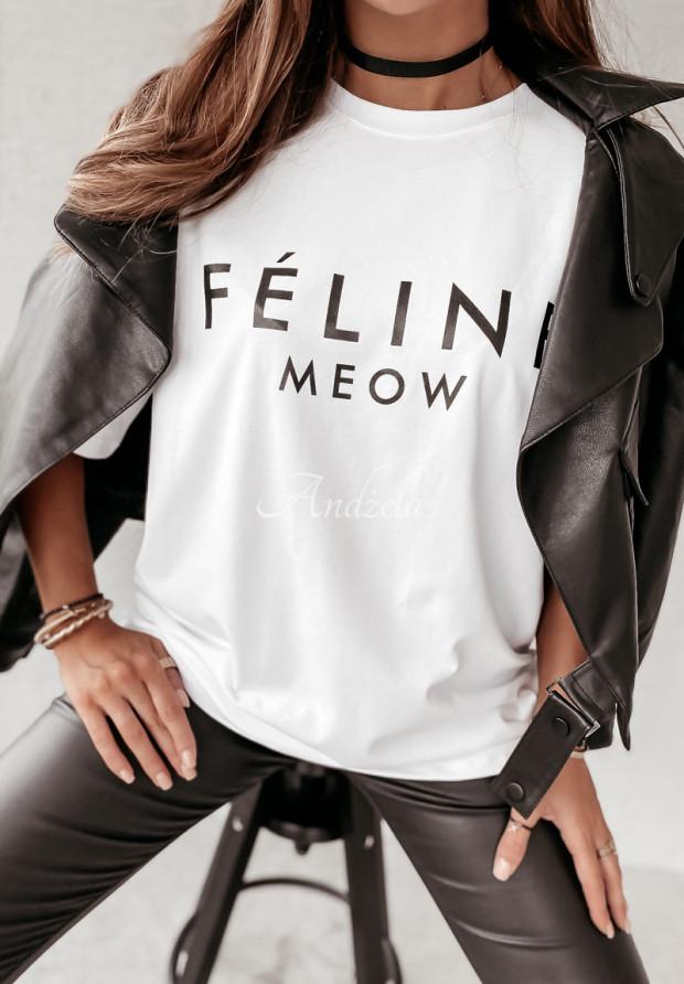 Tričko Feline White