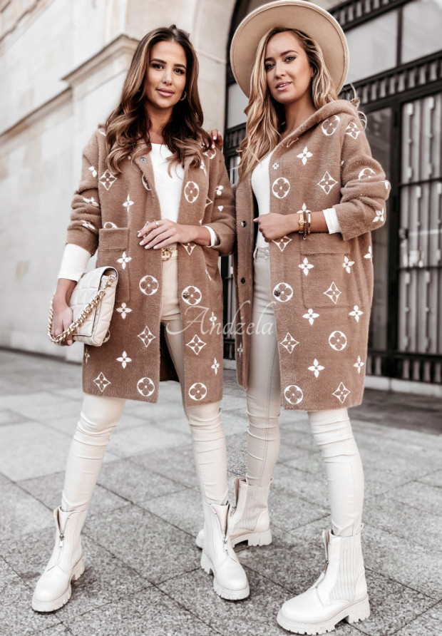 Kabát Alpaka Santrelle Camel