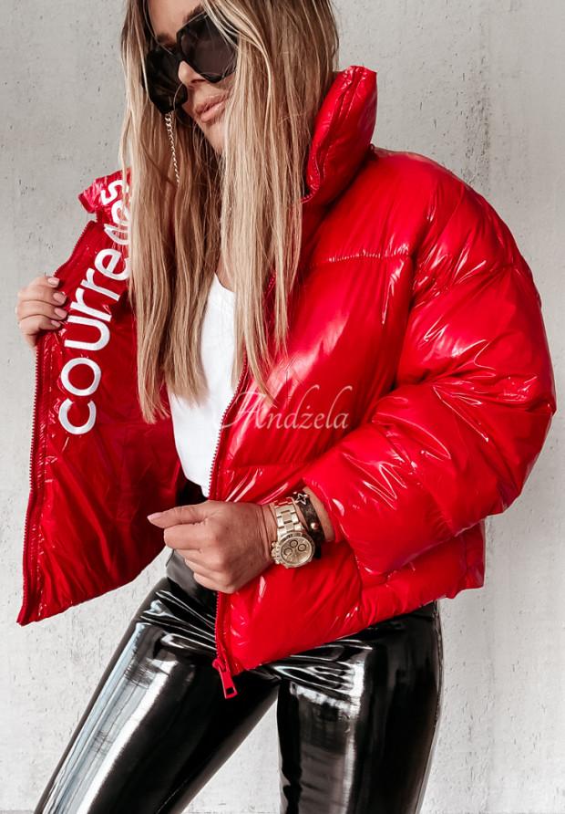 Bunda Bomberka Courreges Red