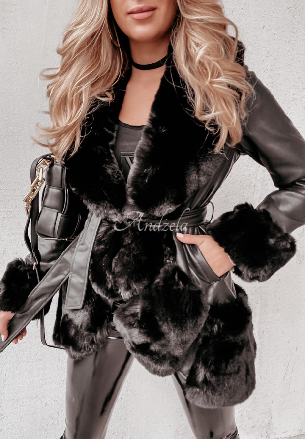 Kabát Andre Skin Black