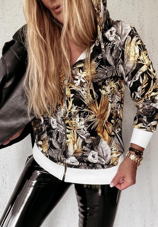 Mikina Mombassa Black&Gold