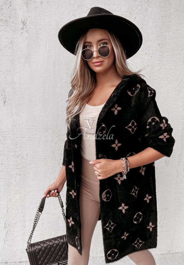 Kabát Alpaka Santrelle Black