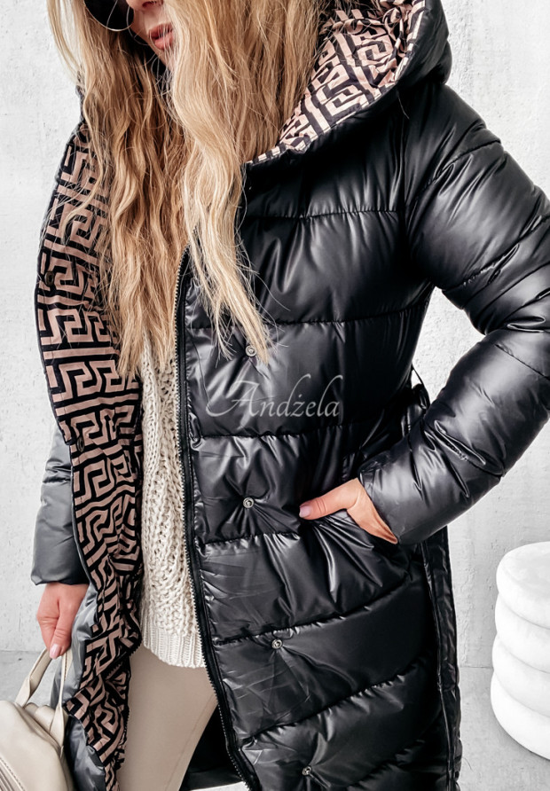 Bunda Kabát Rinna Black