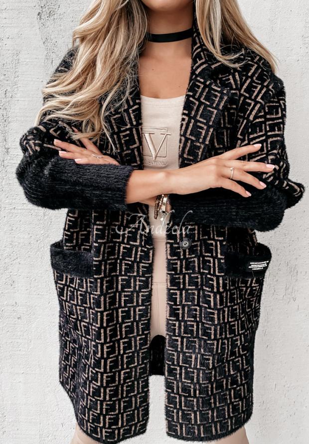 Kabát Alpaka Ruby Black