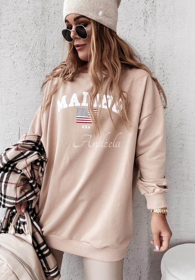 Mikina Malibu Camel