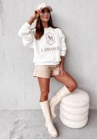 Mikina La Manuel Icon White