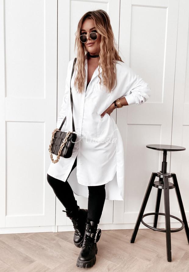 Šaty Košeľa Artibia White