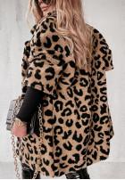Kabát Kožuch Olivia Camel&Black