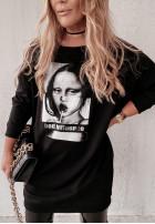 Mikina Tunika Influence Black