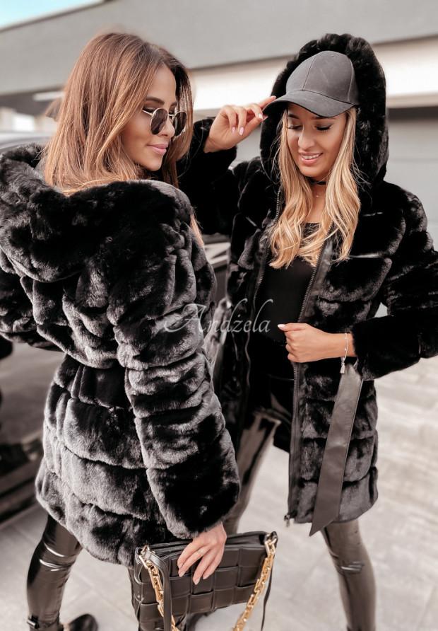 Kabát Futro Tardi Black