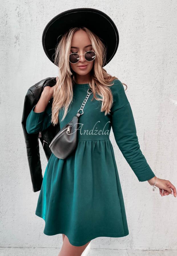 Šaty Fergie Bottle Green