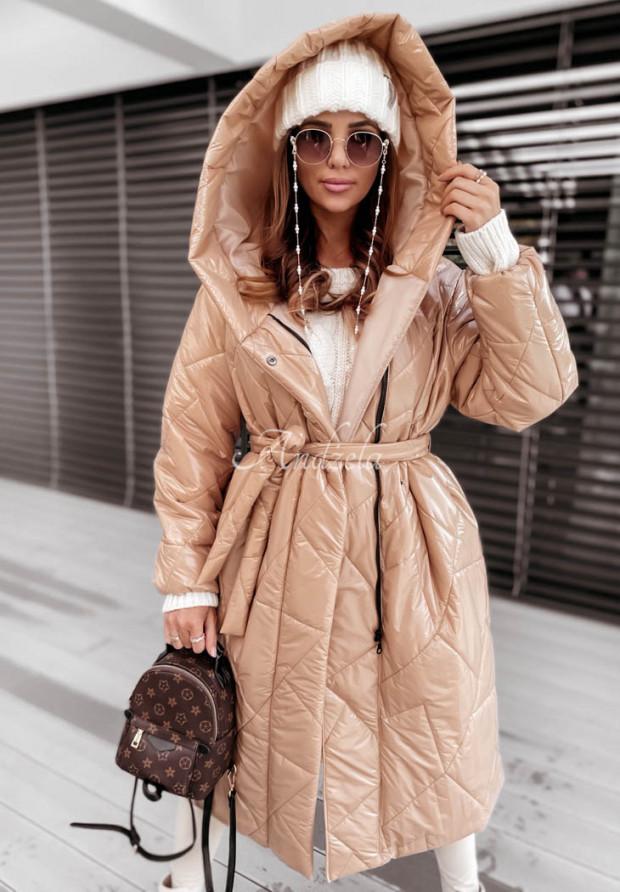 Bunda Kabát Astrina Beige