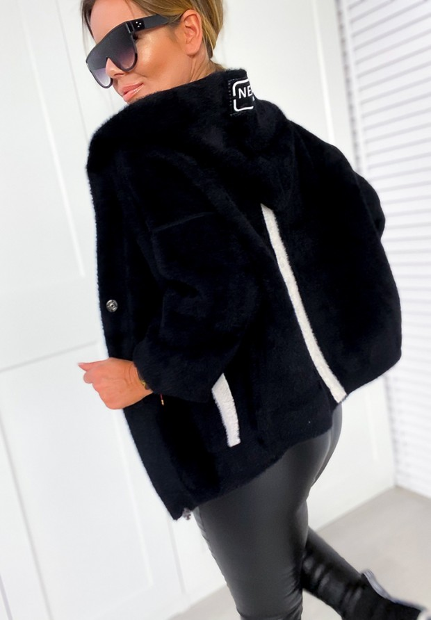 Płaszcz Alpaka Next Black