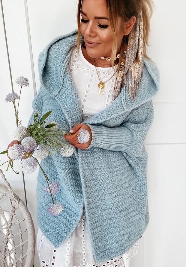 Sweter Kardigan Cocomore Amber Blue